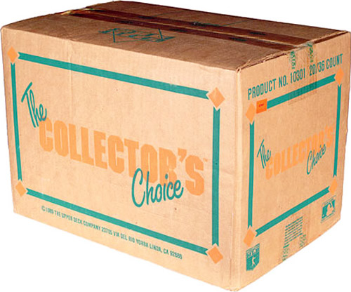 Sealed Case the Collectors Choice