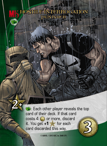 Marvel Legendary Dark City Expansion Punishe