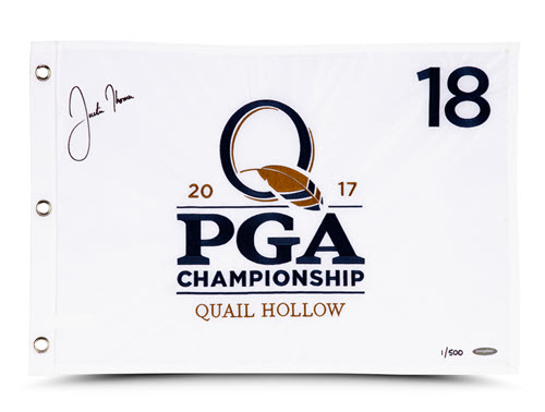 Justin Thomas PGA PIN FLAG