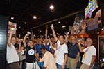 Happy Collectors at the 2013 National Sports Collectors Convention