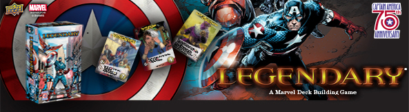 Legendary®: A Marvel Deck Building Game: Captain America 75th Anniversary