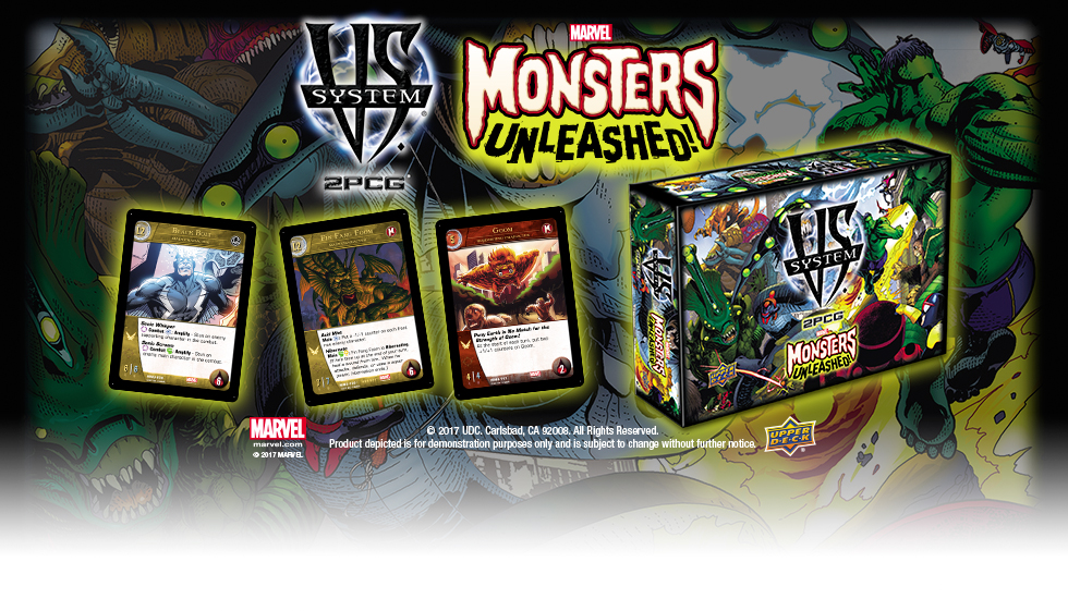 Vs System® 2PCG®: Marvel Monsters Unleashed Expansion Now Available