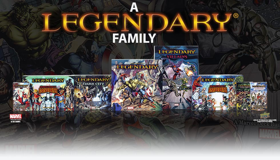 Legendary Deck Building Games | Shop Now!