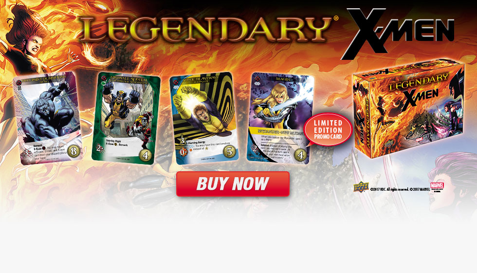 All New Legendary®: X-Men Expansion | Buy Now!