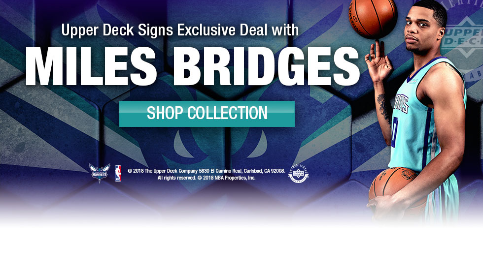 Mile Bridges Autographed Basketball Memorabilia