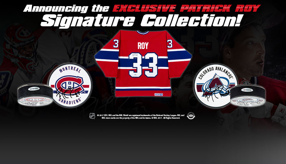 The Patrick Roy Signature Collection!