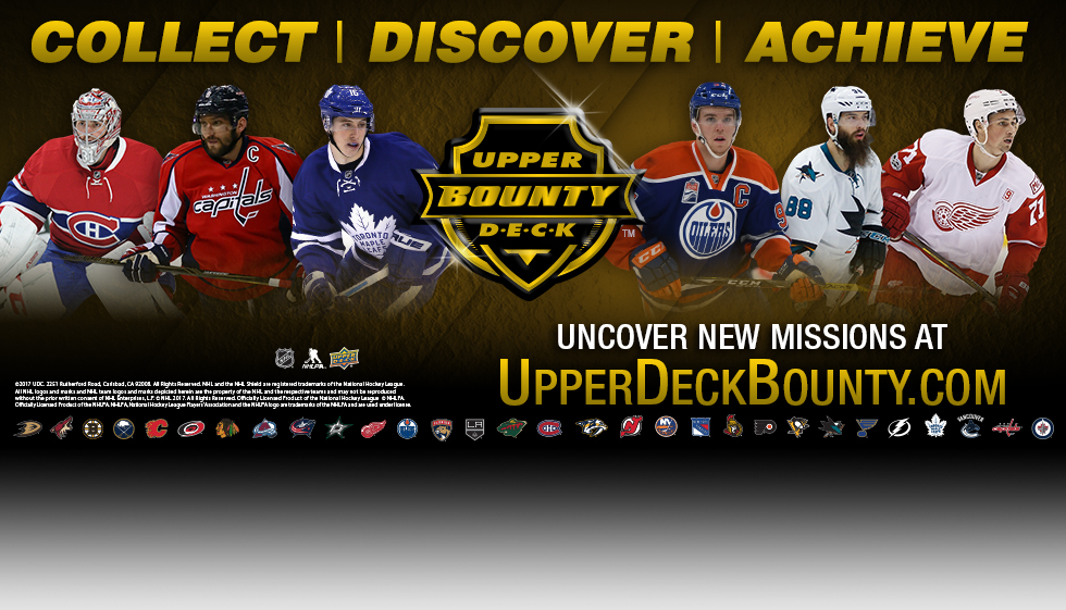 Announcing Upper Deck Bounty!