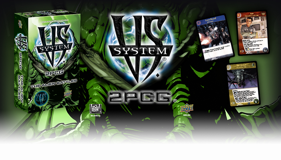 VS Alien 2PCG: The Alien Battles