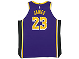 LeBron James Autographed Los Angeles Lakers Statement Edition Authentic Nike Jersey | Buy Now