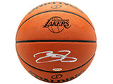 LeBron James Autographed Los Angeles Lakers Authentic Basketball | Buy Now