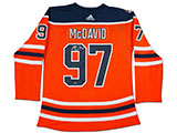 Connor McDavid Autographed Edmonton Oilers Authentic Jersey w/40th Anniversary Shoulder Patch | Buy Now