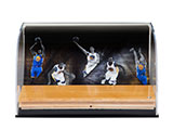 Golden State Warriors 2016-17 Defenders of the Hardwood Game-Used Floor Piece Curve Display Case | Buy Now