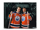 Wayne Gretzky and Connor McDavid Dual Autographed Generations | Buy Now