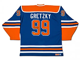 Wayne Gretzky Autographed Edmonton Oilers Heroes of Hockey Blue CCM Jersey | Buy Now