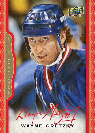 2014-15 NHL ICE Masterpieces Cards Wayne Gretzky